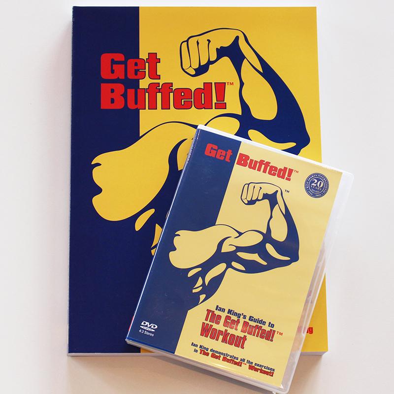 Get Buffed!™ Book and DVD Combo King Sports International